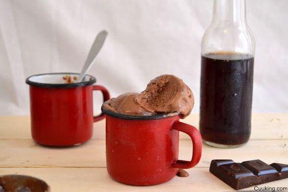 ¡¡Un helado sólo para adultos!! De chocolate y cerveza negra