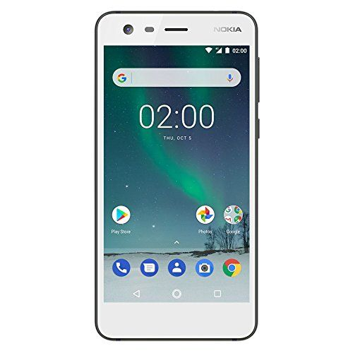 Nokia 2 Android 8gb Single Sim Unlocked Smartphone At T T Mobile Metropcs Cricket H2o 5 Screen White U Mobile Phone Deals Nokia 2 Samsung Mobile