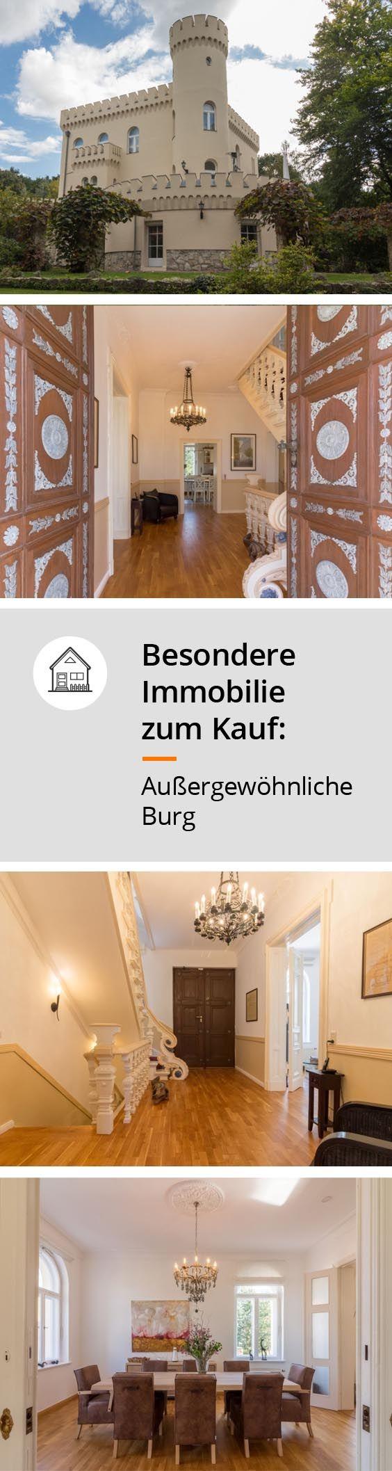 Exklusives Wohnen In Außergewöhnlicher Burg Haus Gartenhaus Immobilien
