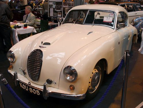 Jowett Jupiter Abbott Coupe, 1952. Abbott of Farnham were...