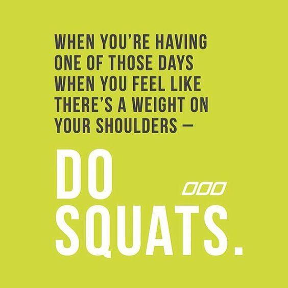 Do SQUATS!  #squats #legworkouts #strength