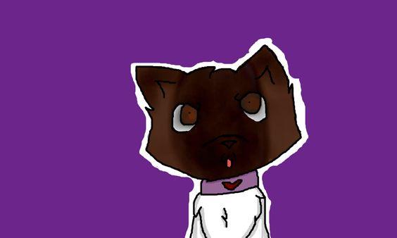 i drew Rosey ( mah other dog irl!!! ) on flockmod