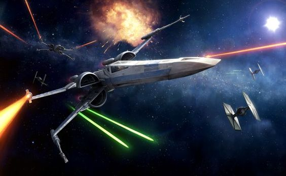 As ilustrações de Star Wars de Darren Tan