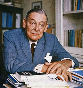 """For last year's words belong to last year's language and next year's words await another voice.""  T.S. Eliot:"