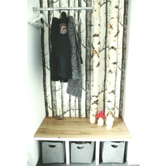 Diy Birken Garderobe 2019 Diy Birken Garderobe Die Post Diy Birken