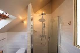 Image result for salle de bain sous pente