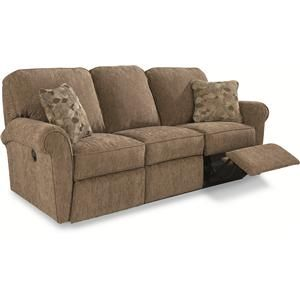 Jenna Power La Z Time 174 Full Reclining Sofa With Rolled