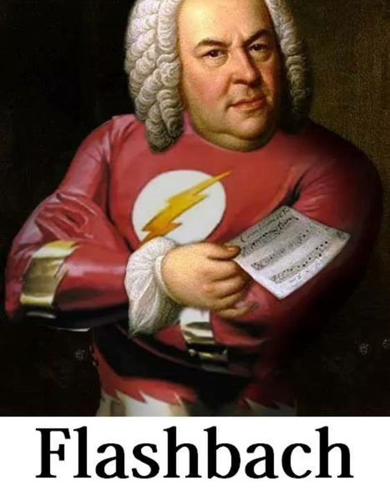 Bach memes are the best  by classical_art_memes: