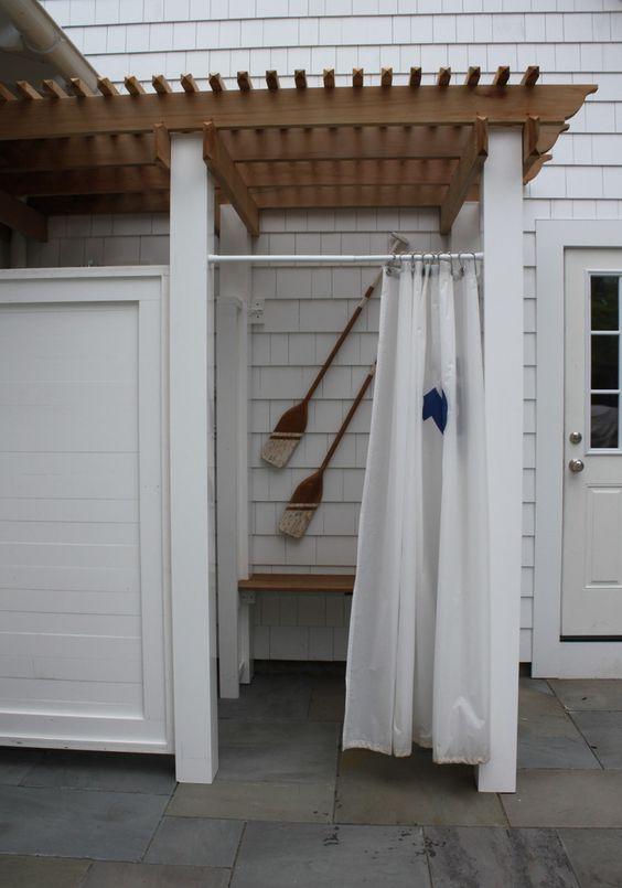 Outdoor shower Molly Frey Design