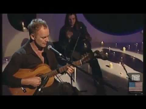 STING LIVE UNPLUGGED  -FRAGILE -TRIBUTE TO HEROES