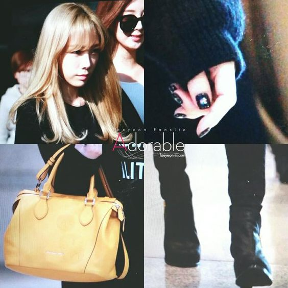 Adorable ‏@taeyeon_ss_com 151028 Incheon Airport TaeYeon Preview -2  #SNSD #taeyeon