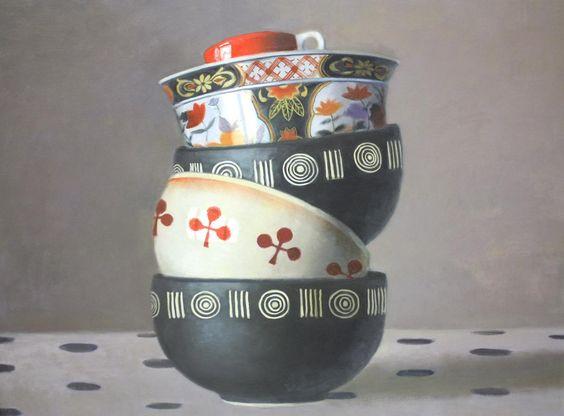"Olga Antonova - ""Stacked Bowls"""