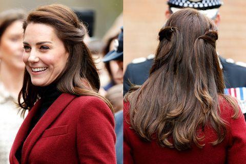 37 Times Kate Middleton Had Glorious Glorious Hair Peinados Diarios Kate Middleton Famosos