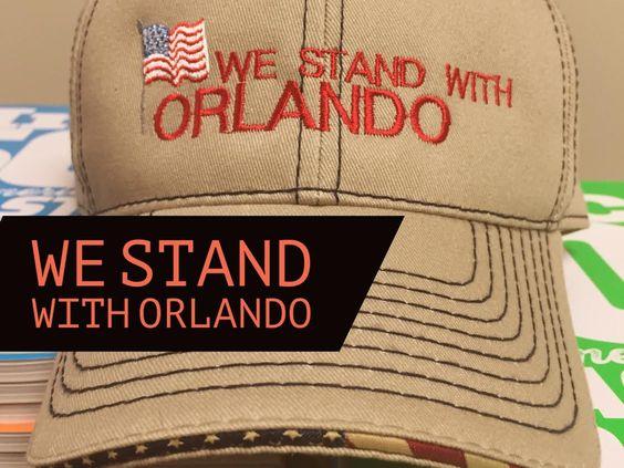 We Stand With Orlando - #OrlandoUnited