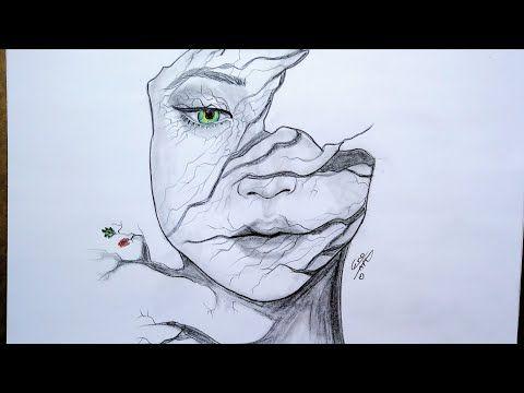 رسوم تعبيرية سهلة لتعليم الرسم والابداع 99 سكن الخريف روحى Easy Expressive Drawing Youtube Amazing Art Painting Amazing Art Art