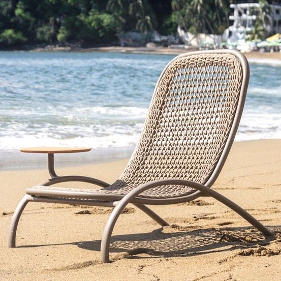Holbox Chair For Zavottioutdoor A Comfortable Seat For Resting Wide And Cozy With A Low Height To Rest The Outdoor Chairs Comfortable Seating Mexican Designs
