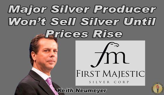 #Silver CEO Suggests Miners Halt Sales at Depressed Prices