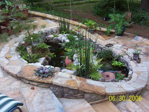 Decorative pond water features pinterest ponds for Decorative ponds