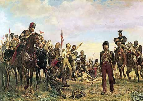 The Battle of Balaclava - Crimean War - Survivors of the Charge of the Light Brigade