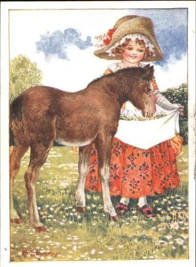 Иллюстрации Amy Millicent Sowerby (1878-1967) (92 работ):