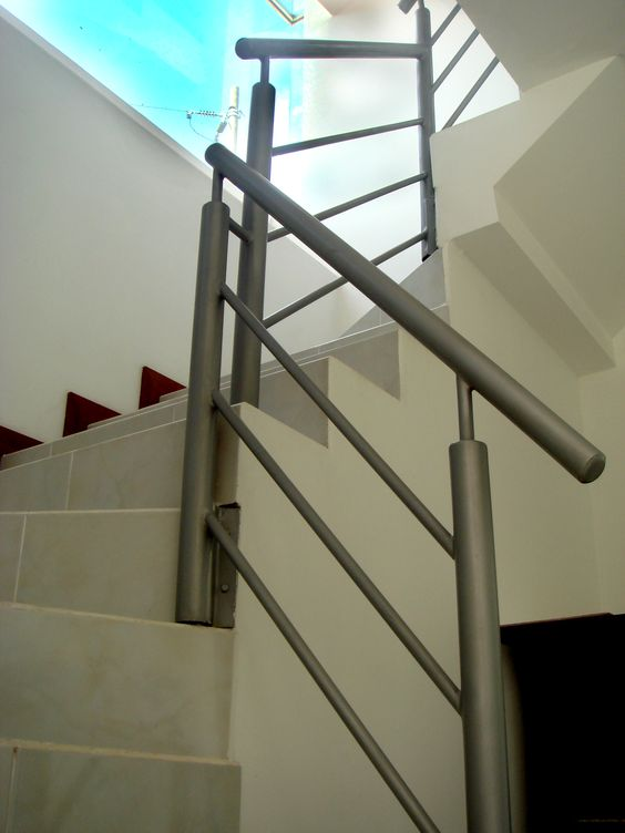 Pasamano met lico proceso constructivo http for Grada escalera