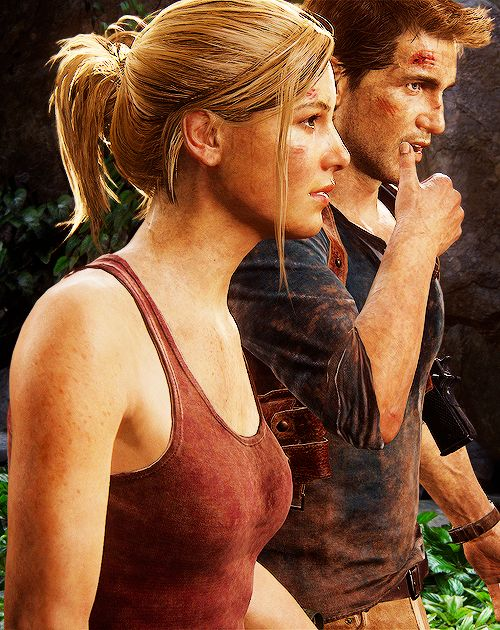 I love these two so much! Kudos to Naughty Dog and their ...