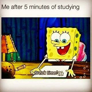 When studying just isn't going that well: | 27 Pictures That Will Make Way Too Much Sense To College Students