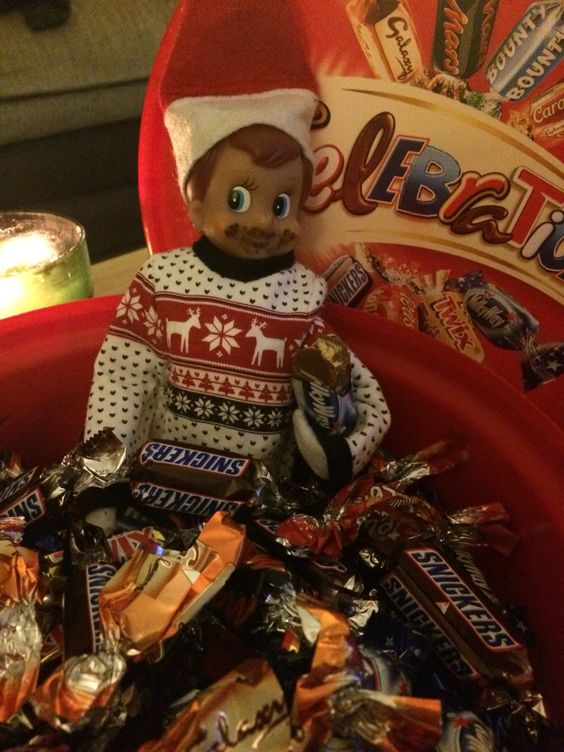 Elf Day 6 - Mmmm chocolate