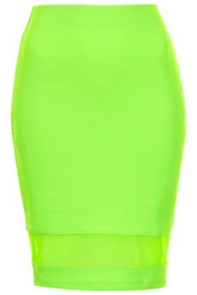 Neon green pencil skirt – Modern skirts blog for you