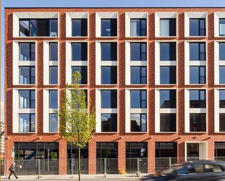 Best Housing Design Awards Finalist: Vimto Gardens. Designed by Glen Howells Architects, brick by Keith Walton Brickwork using Wienerberger bricks. #LoveBrick