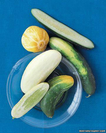 Cucumber Basics: 50+ Recipes from Martha Stewart