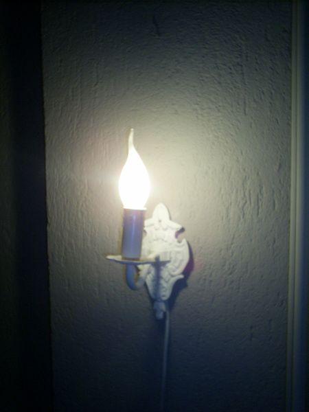 Lief klein wandlampje