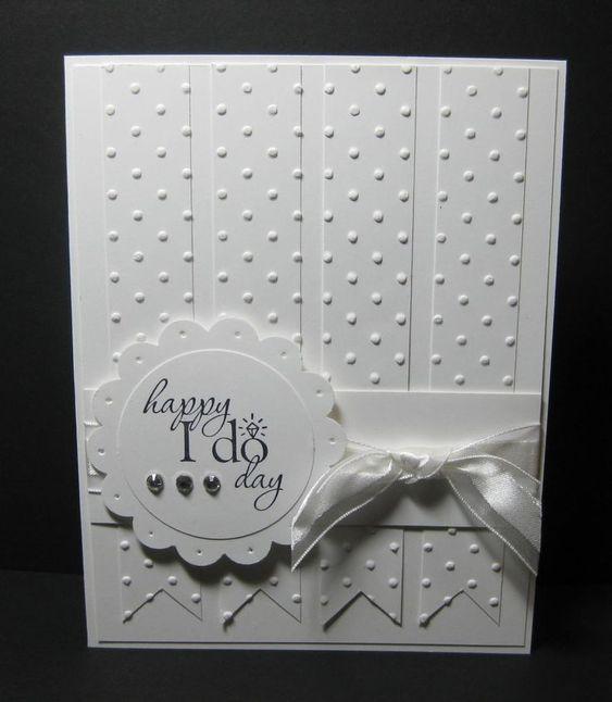 Card Samples #3 - Embossed