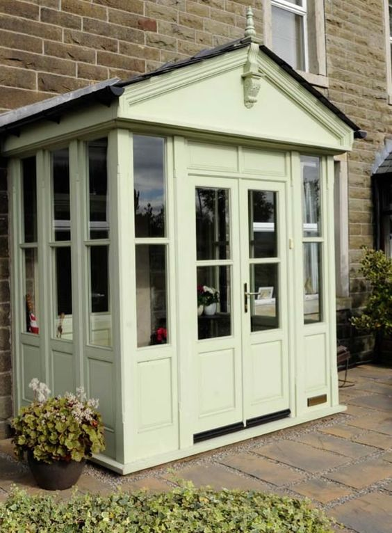 small conservatory sunrooms pinterest conservatory. Black Bedroom Furniture Sets. Home Design Ideas