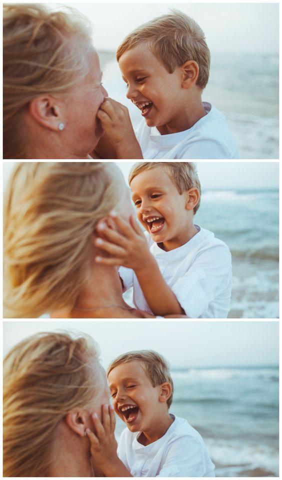 Sesión fotos en la playa con Sander | Carlota y patata