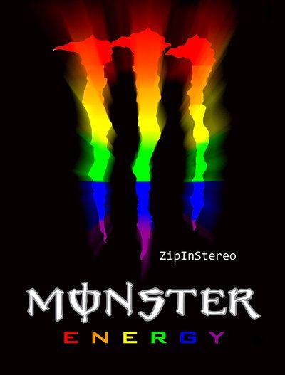 虹色のロゴ
