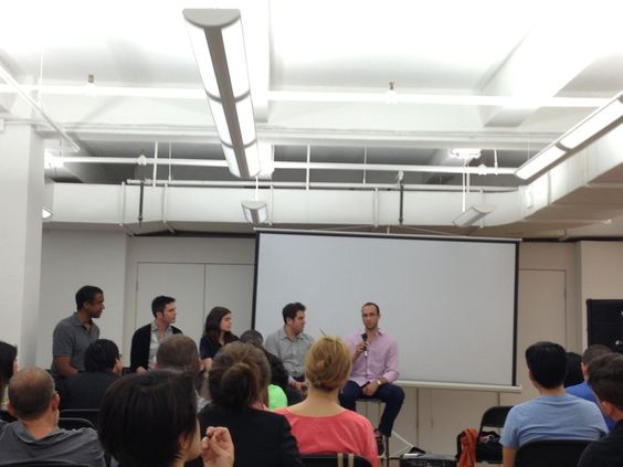 Mark Cooper, co-founder of Offerpop, kicked things off by asking the panel what second screen was for them. Lost Remote's Natan Edelsburg replied that it was things like live streaming of events, like the recent MTV VMAs, where it's more about the content than the technology involved.