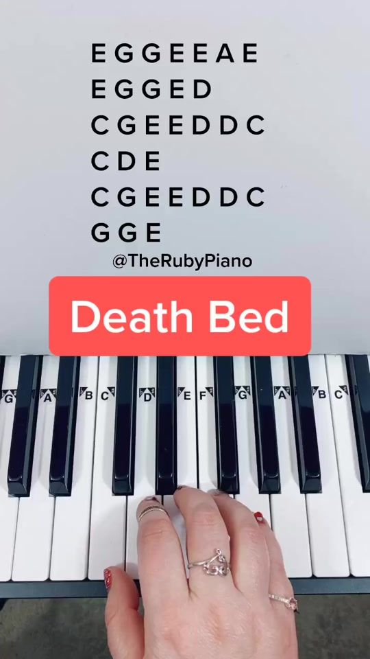 Therubypiano Therubypiano Official Tiktok Watch Therubypiano S Newest Tiktok Videos Piano Songs Piano Music Notes Easy Piano Songs