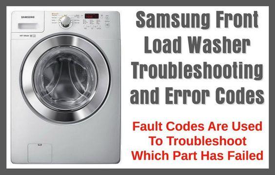 Samsung Washing Machine Troubleshooting Unique Samsung Washing