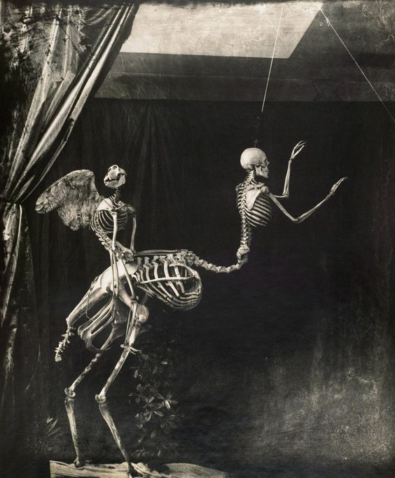 Joel-Peter Witkin. Cupid and Centaur in the Museum of Love, 1992