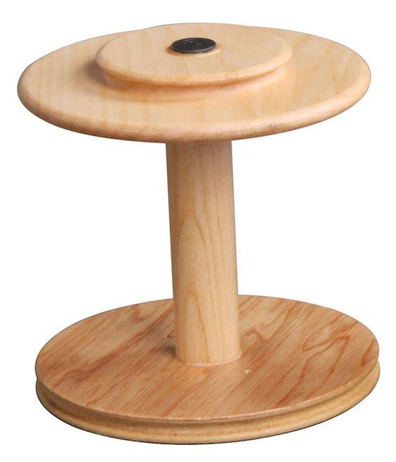 Zweifädiger Antrieb: große zweifädige Spule #ashford #spinning #wheel #eSpinner