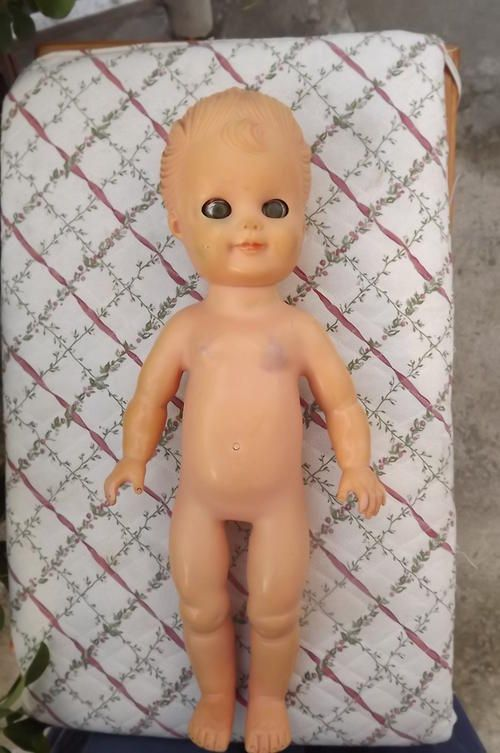 Solid Rubber Doll (1950's)