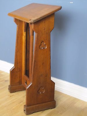 ANTIQUE GOTHIC CARVED OAK CHURCH LECTERN, READING STAND, IDEAL RESTAURANT.