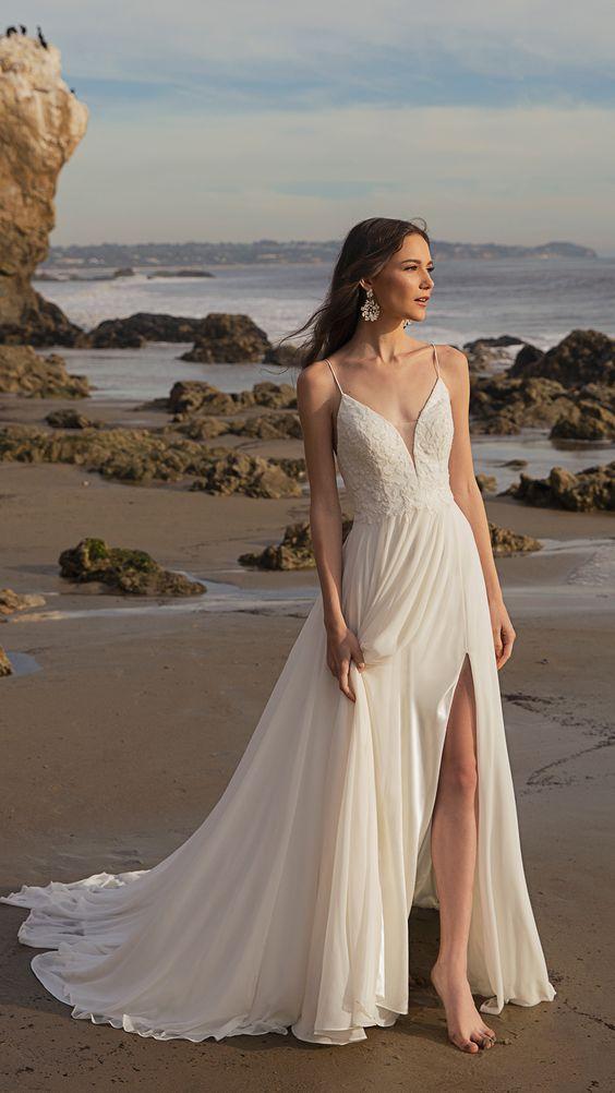 kır düğününde giyilecek gelinlik