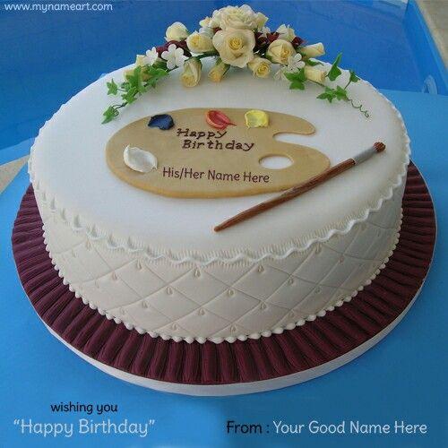 Shantanu Sir Birthday Cake With Photo Birthday Cake Writing