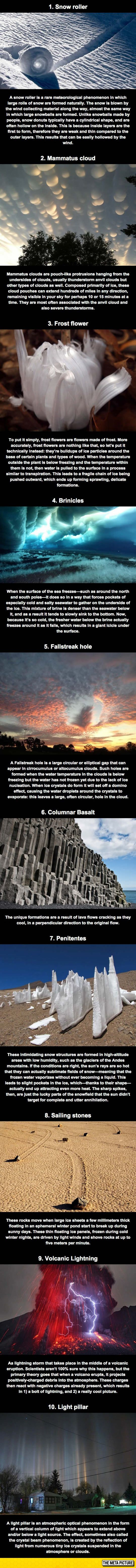 Some Ridiculously Cool Natural Phenomena - only God