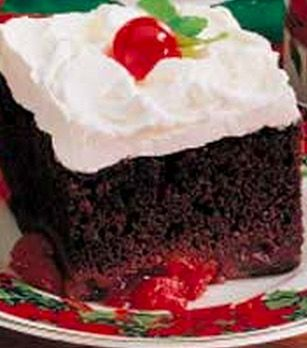 Easy Black Forest Torte - Recipe, Cakes