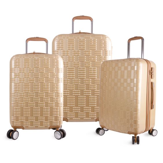 Olympia T-Line Geon 3-piece Hardside Spinner Luggage Set