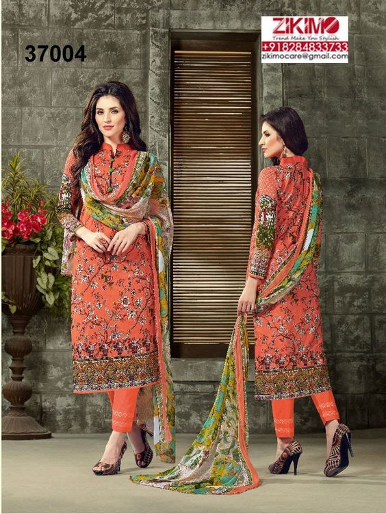 Eid Special Printed Cotton Cambric Pakistani Indian Suits.