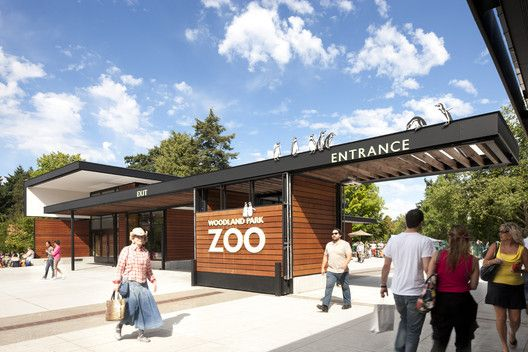 Gallery Of Woodland Park Zoo New West Entry Weinstein A U 17 Woodland Park Zoo Zoo Park Zoo Architecture